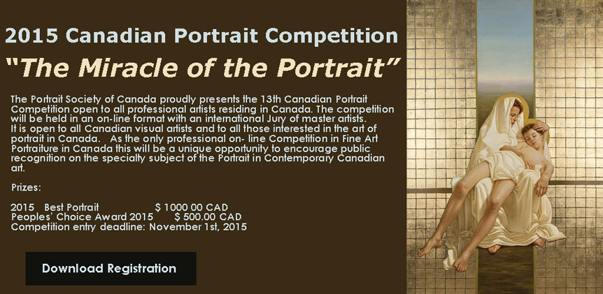 Canadian Portrait Competition 2015